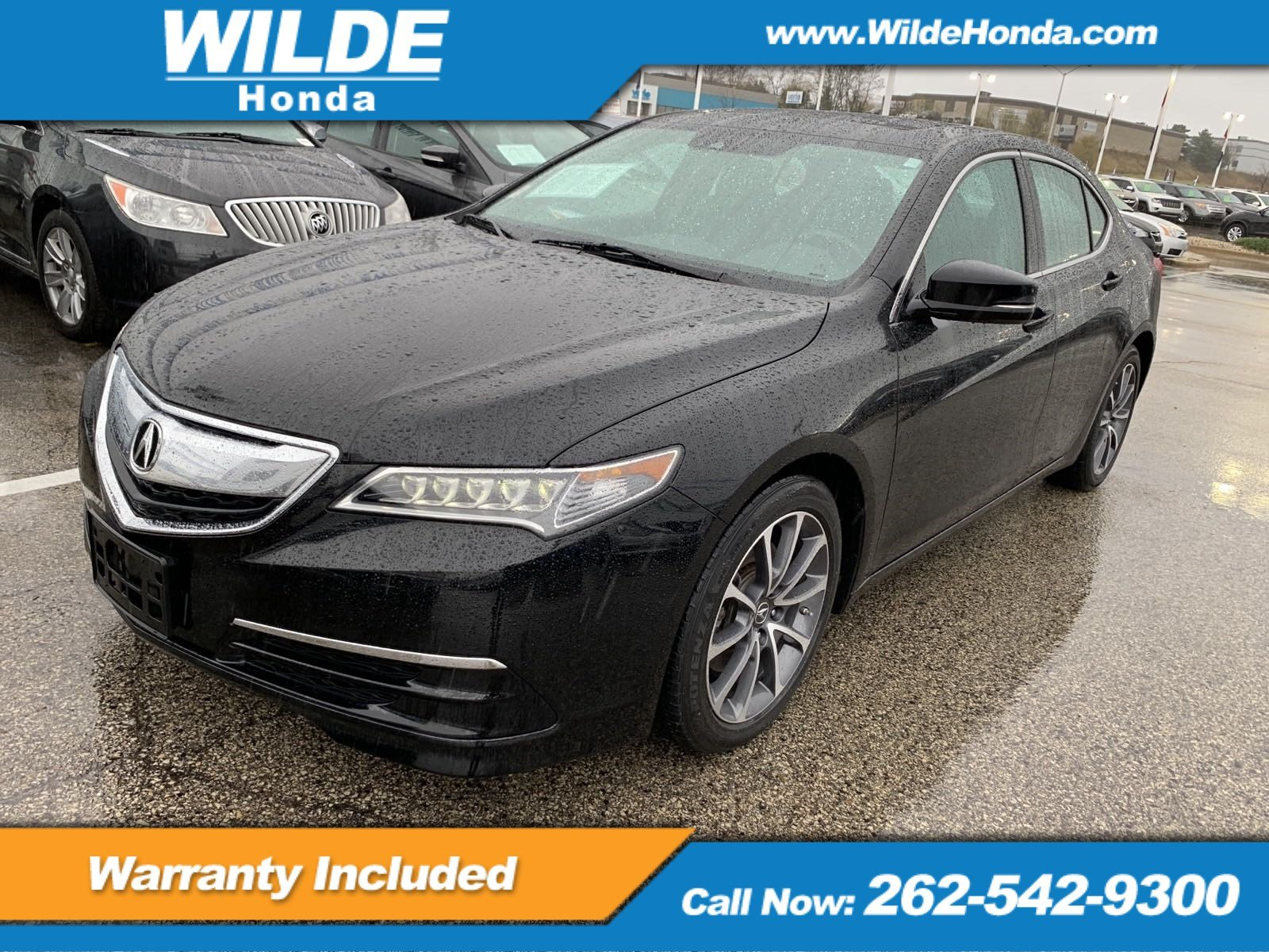 Pre Owned 2016 Acura TLX V6 Tech 4dr Car in