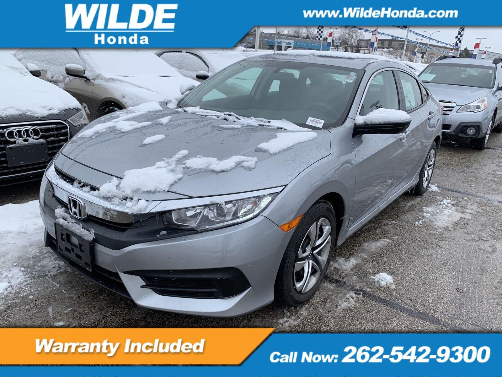 Certified Pre Owned 2017 Honda Civic Lx 4dr Car In 19931 Wilde