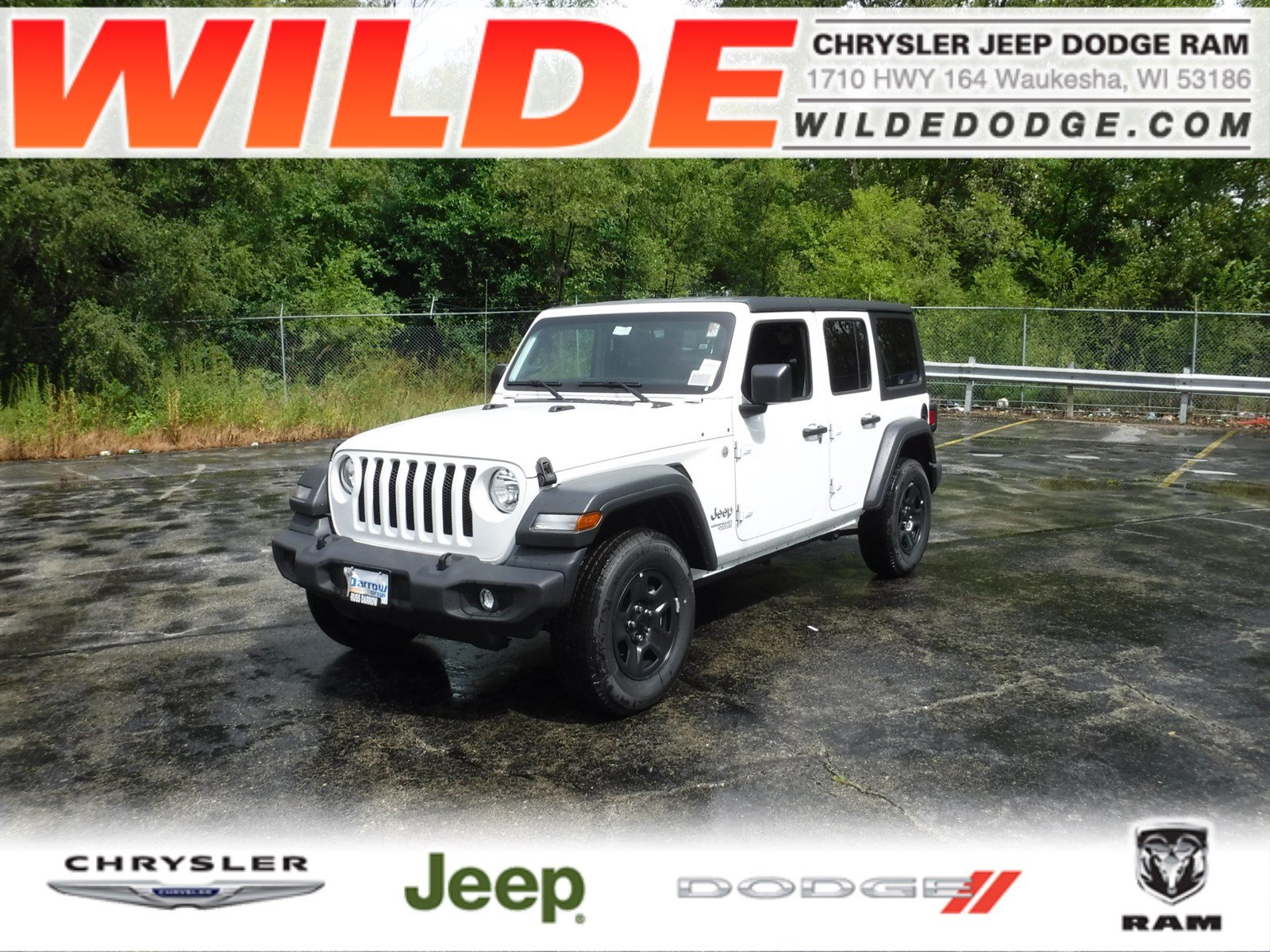 New 2018 Jeep Wrangler Unlimited Sport Suv In 23236 Wilde Combining A Wiring Harness