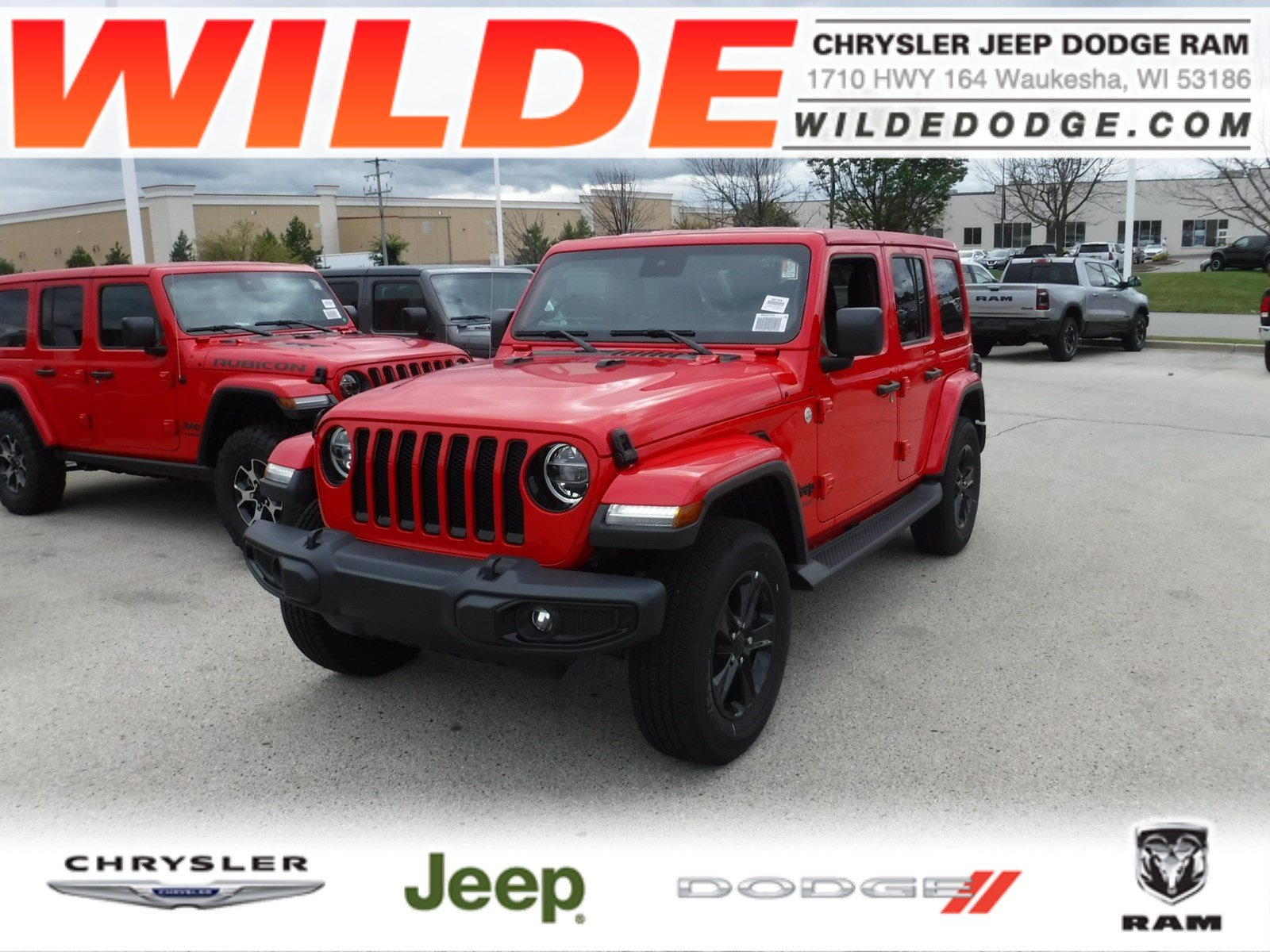 New 2019 Jeep Wrangler Unlimited Sahara Altitude