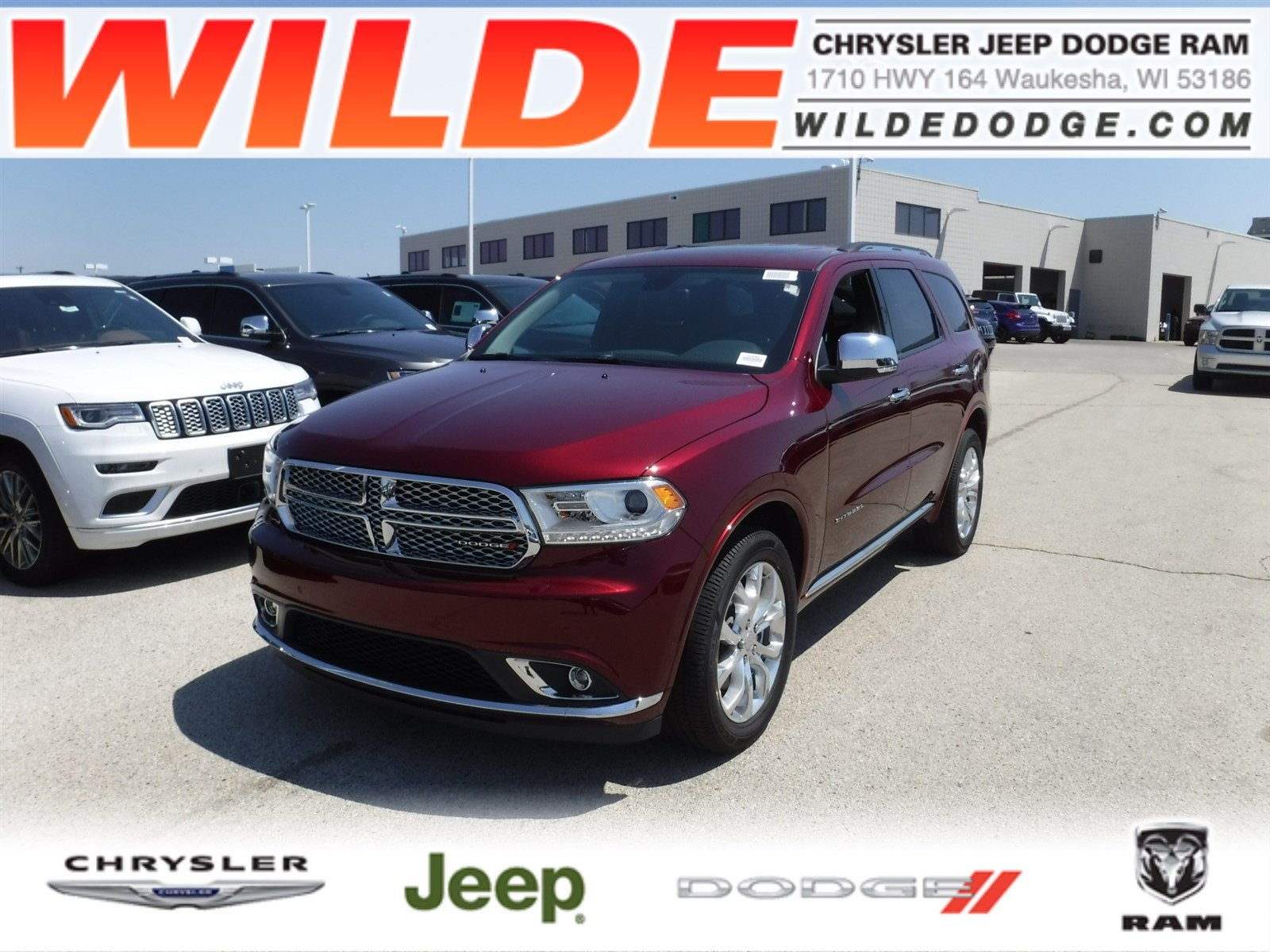 New 2018 Dodge Durango Citadel SUV in