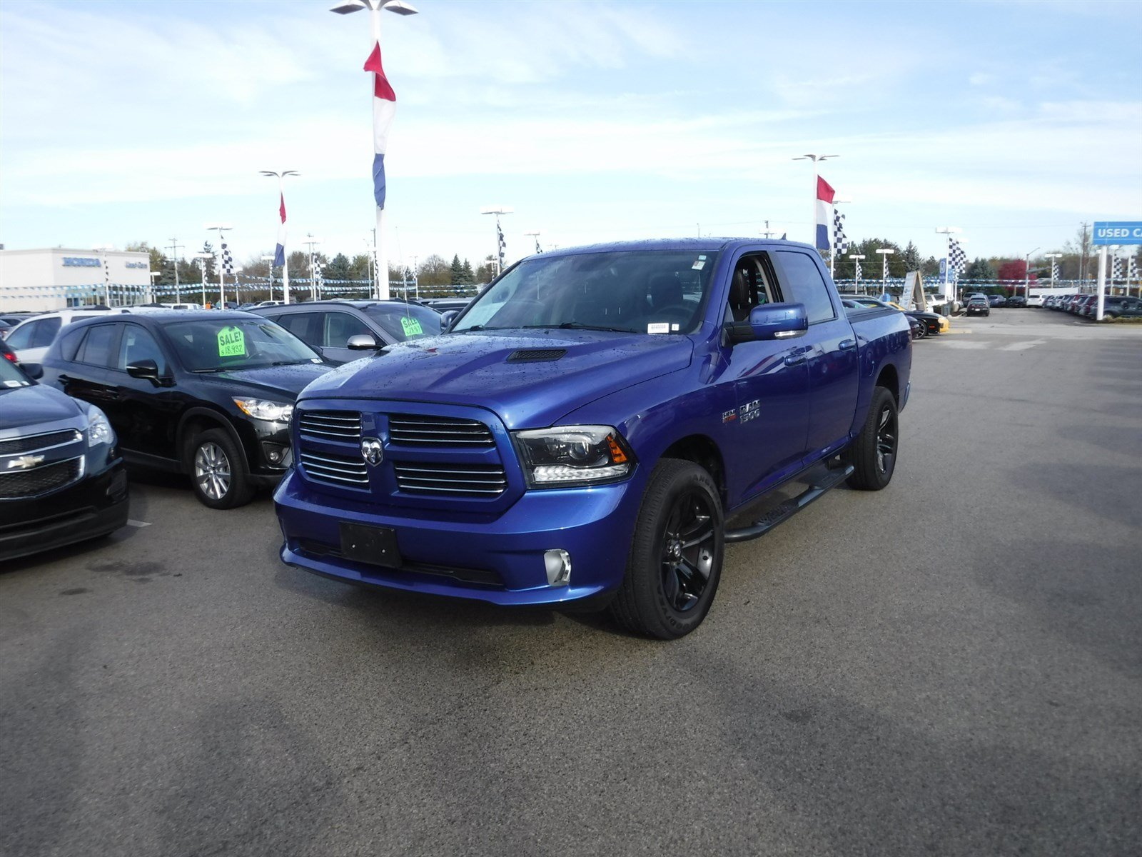 Certified Pre Owned 2015 Ram 1500 Sport Truck in D A