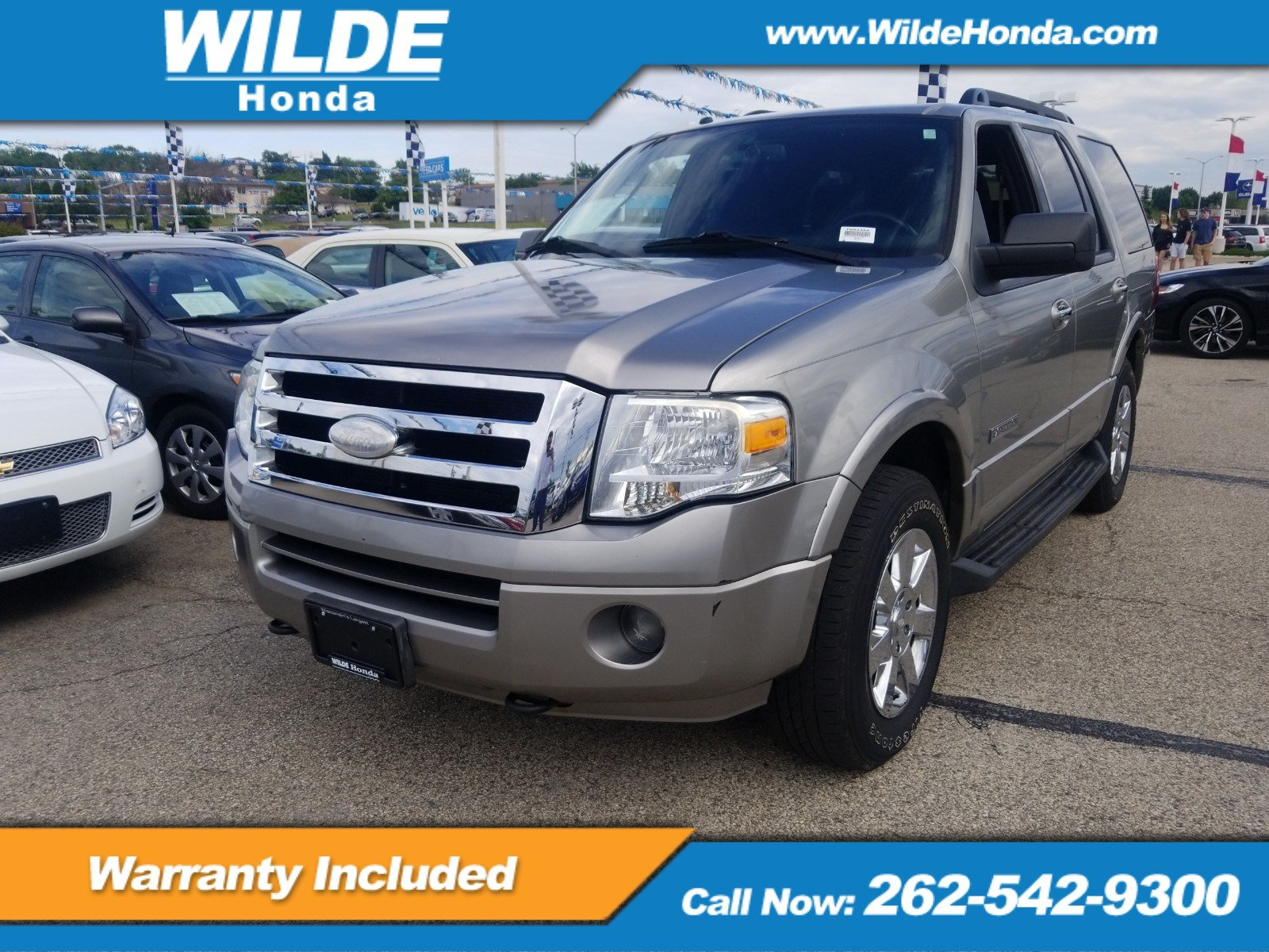 Pre owned 2008 ford expedition ssv