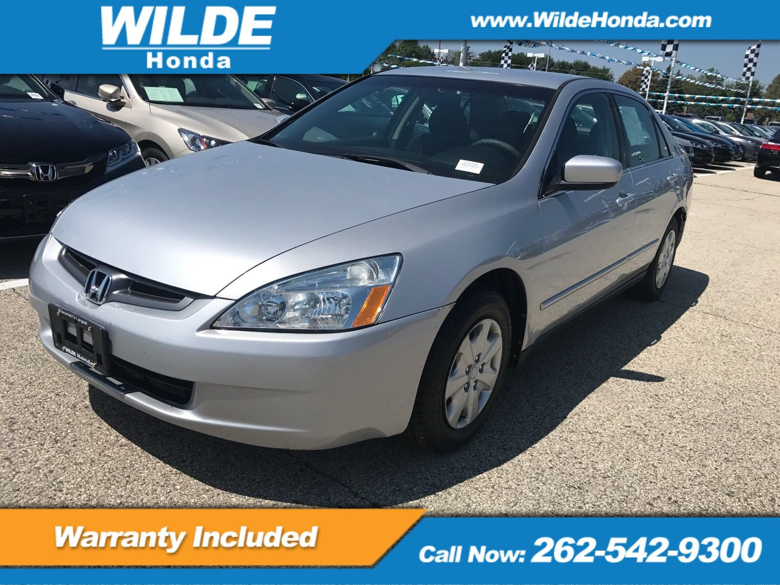 Pre Owned 2003 Honda Accord LX 4dr Car in A