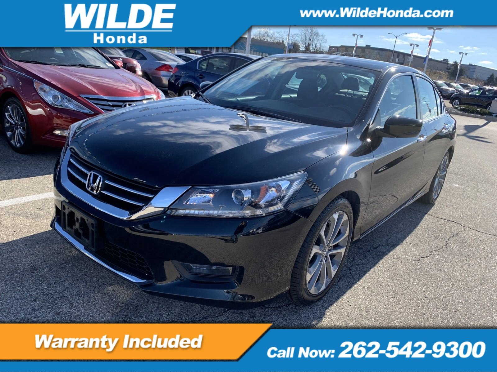 Certified Pre Owned 2015 Honda Accord Sport 4dr Car in A