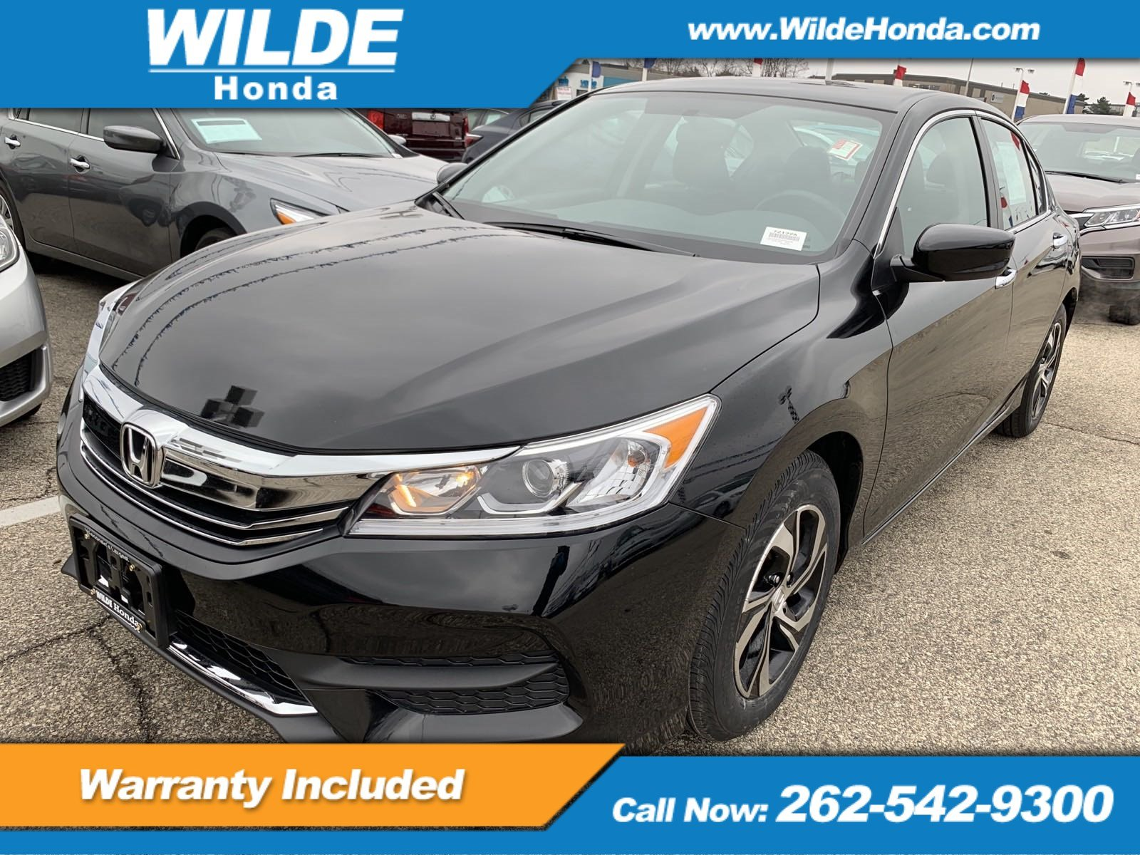 Certified Pre Owned 2017 Honda Accord Lx 4dr Car In 72122a Wilde