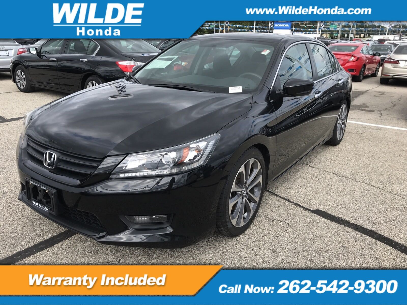 Pre Owned 2014 Honda Accord Sport