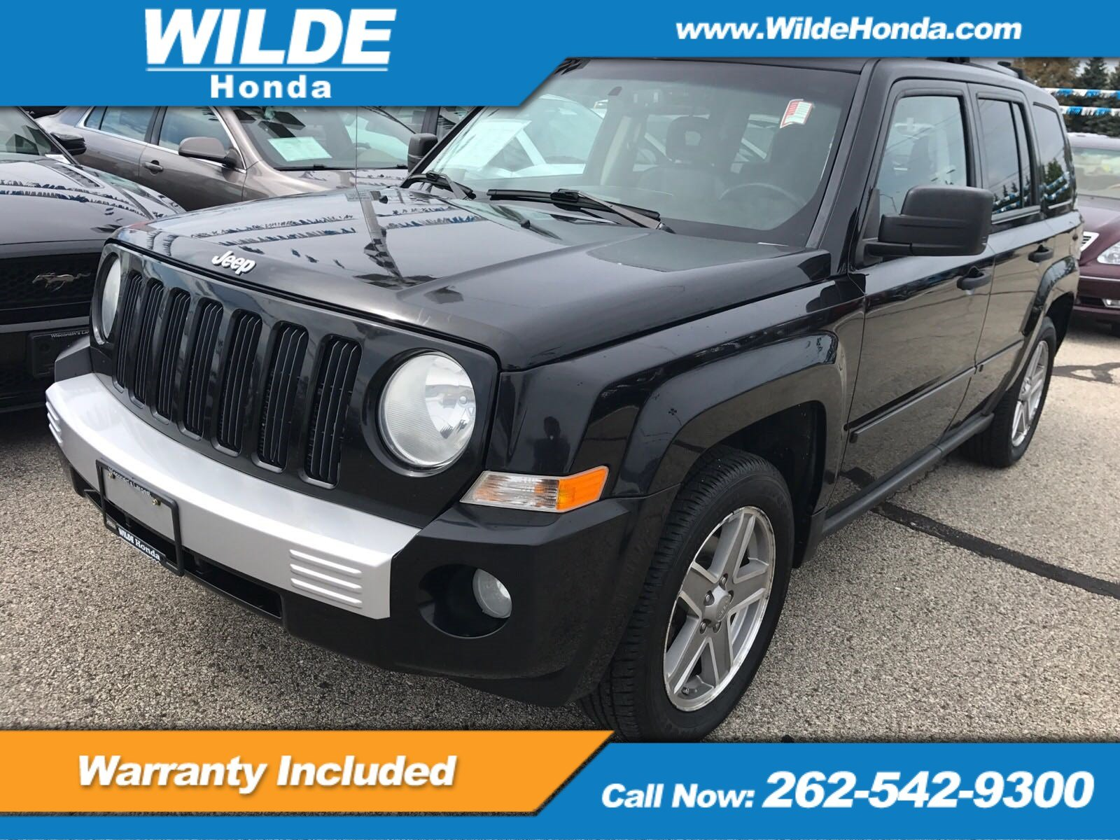 Pre Owned 2007 Jeep Patriot Limited