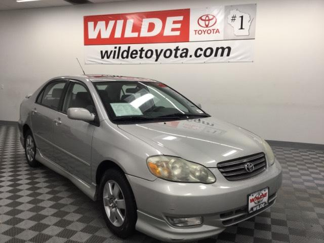 Pre Owned 2003 Toyota Corolla 4dr Sdn S Manual
