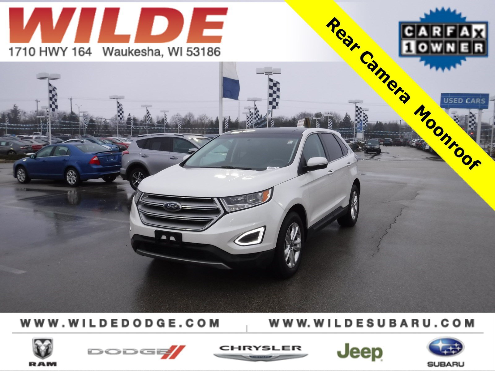 Pre Owned  Ford Edge Sel