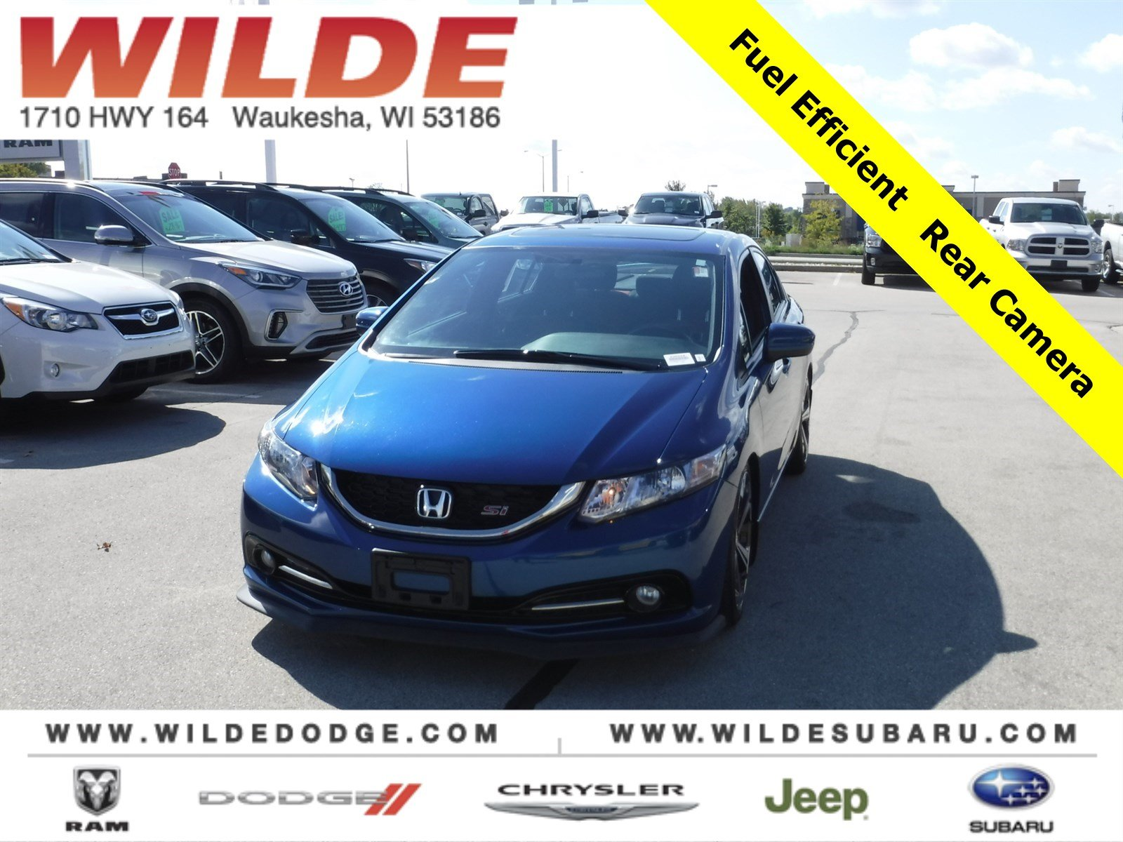 Pre-Owned 2014 Honda Civic Sedan Si
