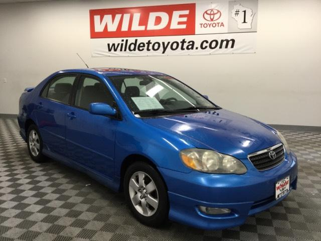 Pre-Owned 2007 Toyota Corolla 4dr Sdn Manual S