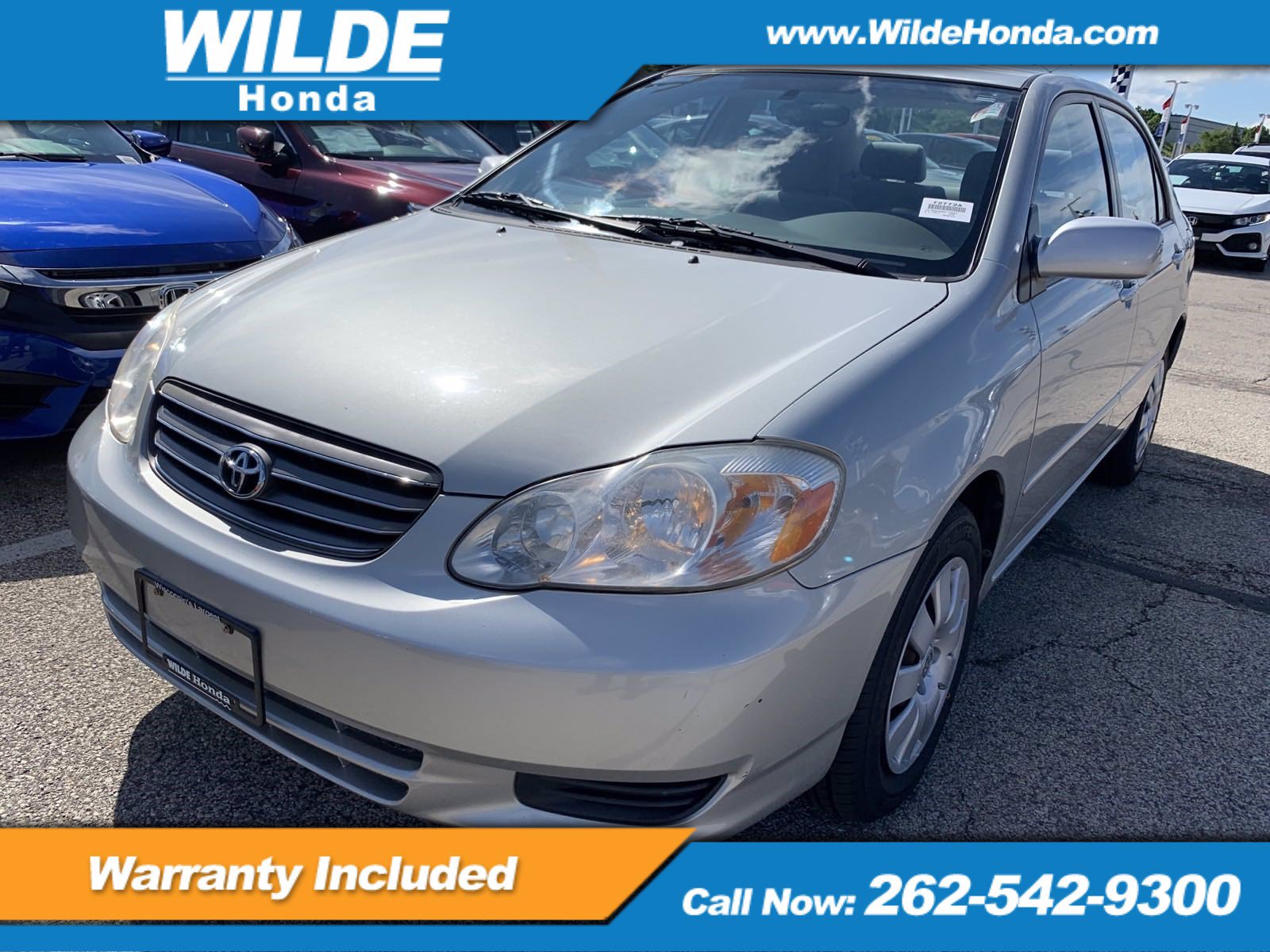 Pre-Owned 2003 Toyota Corolla CE