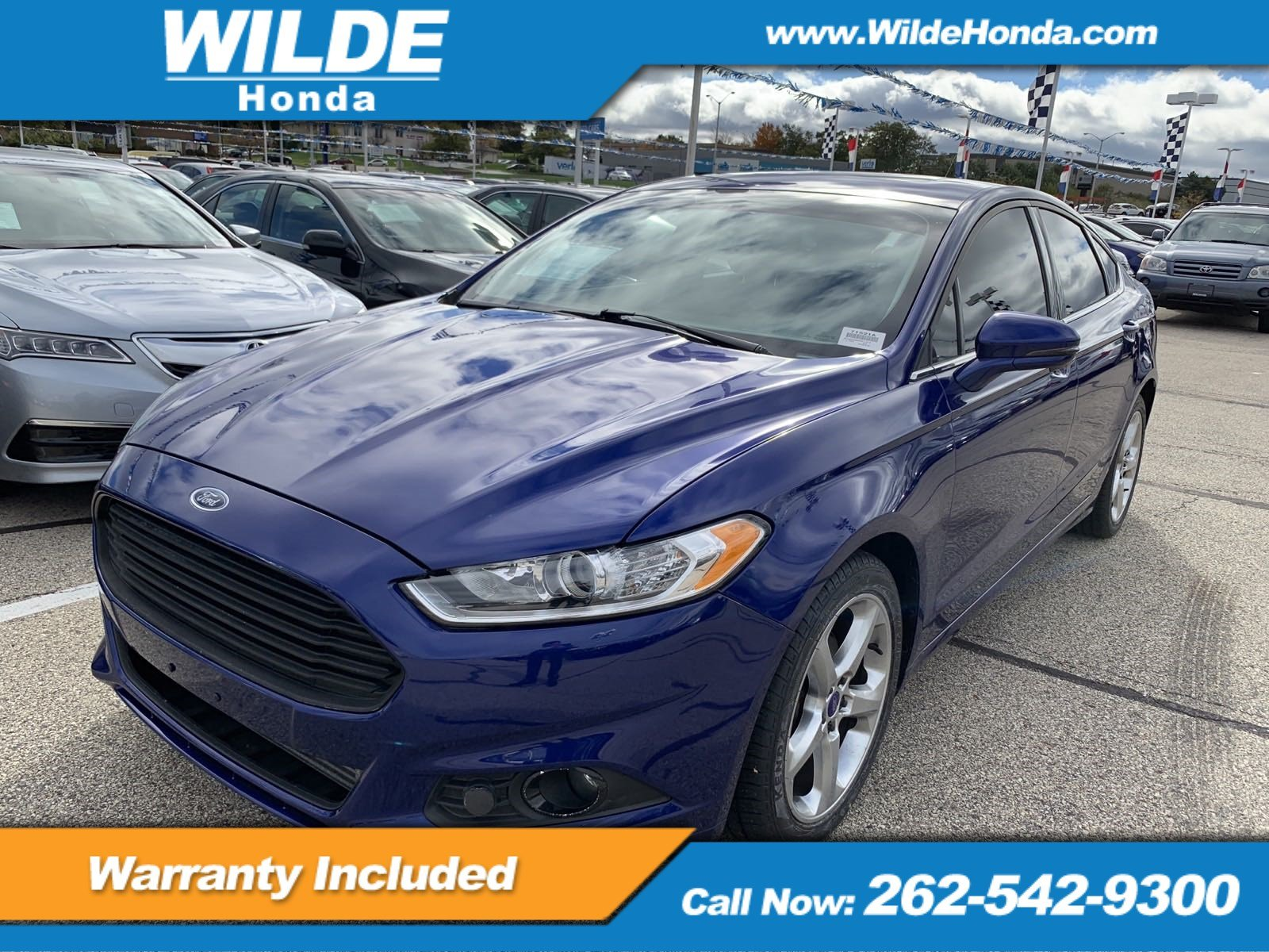 Pre Owned 2014 Ford Fusion SE 4dr Car in A