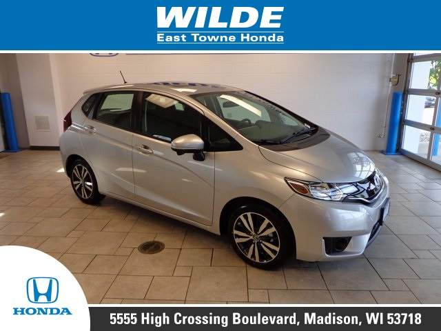 New 2017 Honda Fit Ex 4d Hatchback In 18887 Wilde