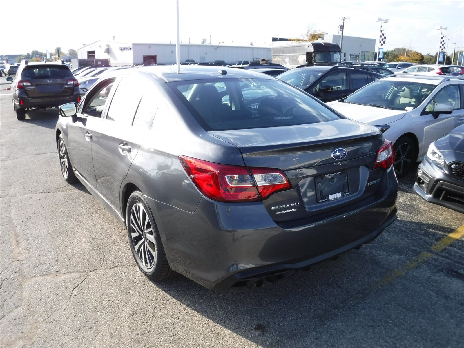 New 2019 Subaru Legacy Sedan in