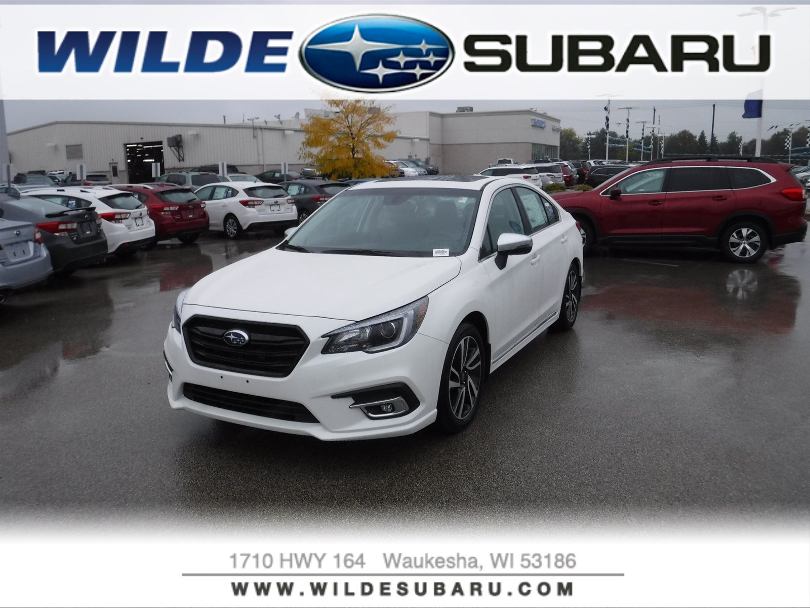 New 2019 Subaru Legacy Sport Sedan in