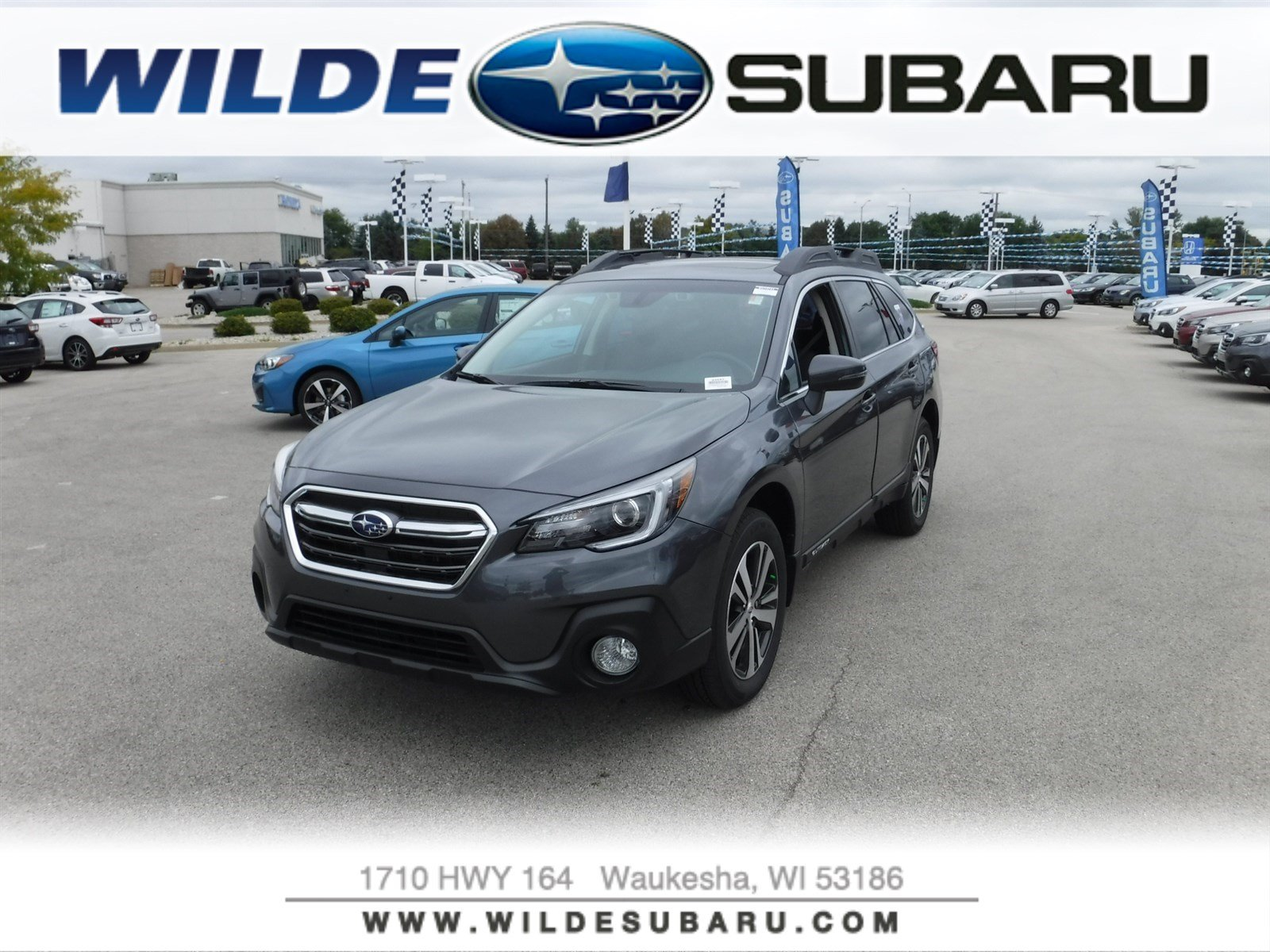 New 2019 Subaru Outback Limited SUV in