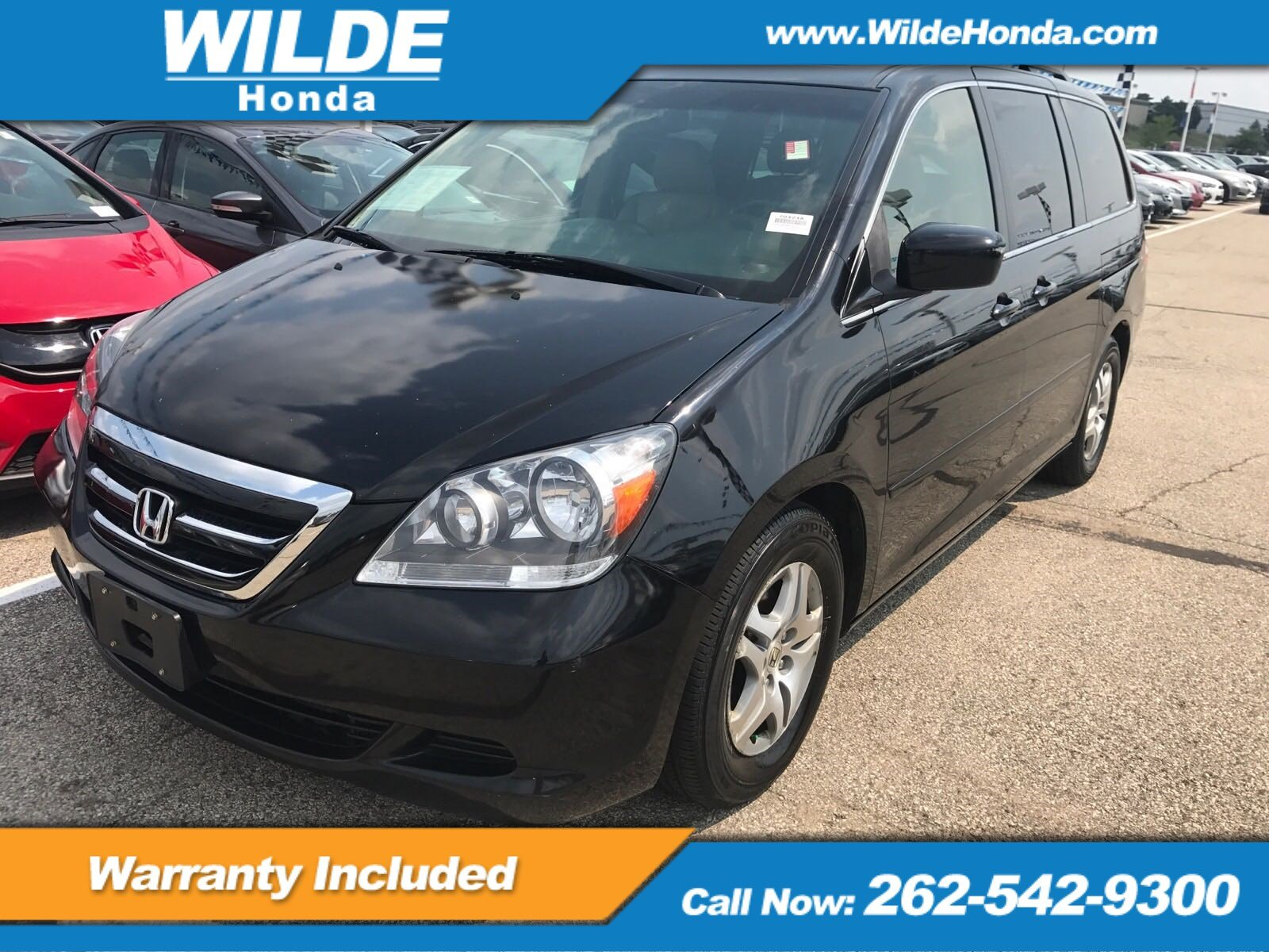 Pre Owned 2006 Honda Odyssey EX L W/ Moonroof
