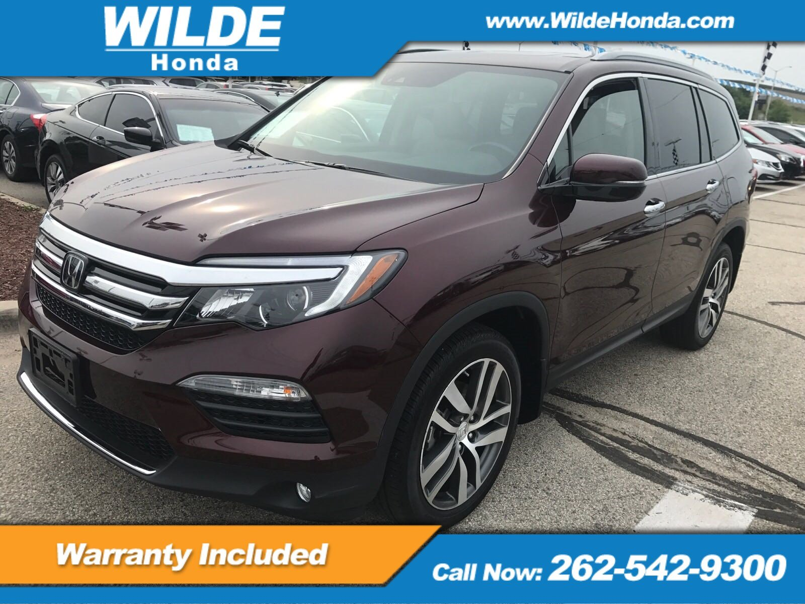 Certified Pre Owned 2017 Honda Pilot Elite Sport Utility In 70866a