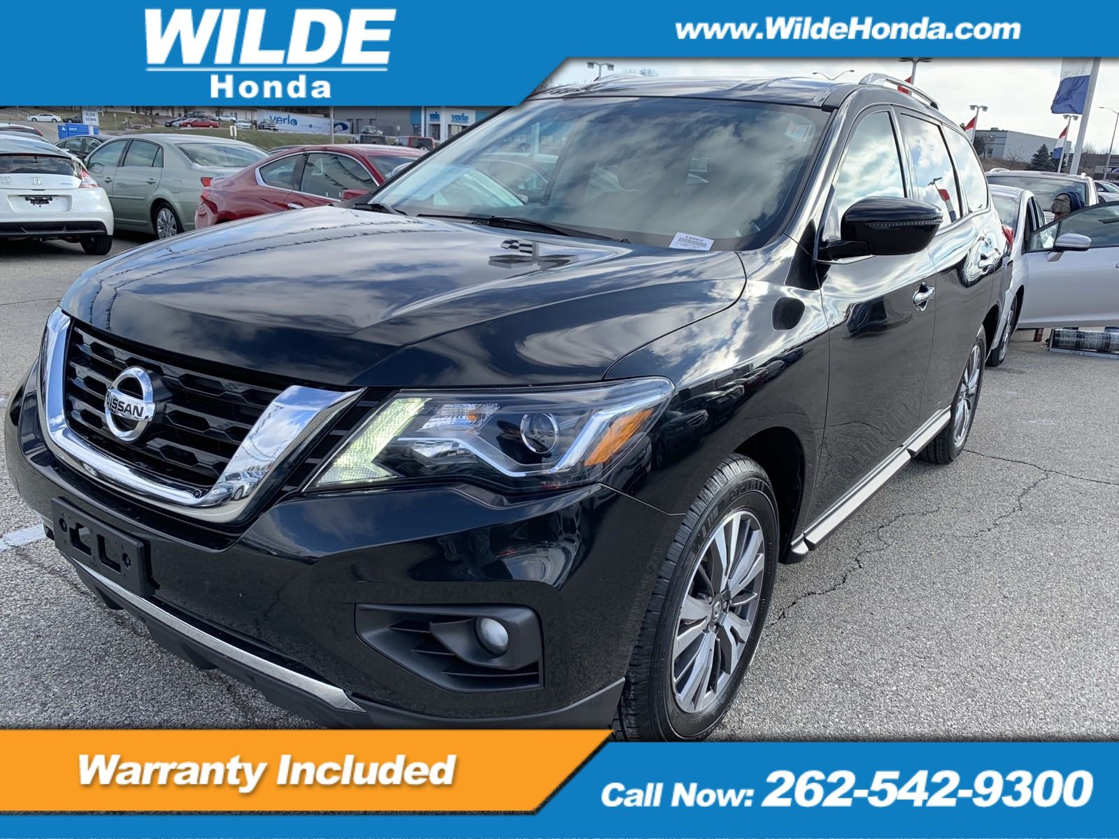 Pre Owned 2017 Nissan Pathfinder Sv Sport Utility In 19862 Wilde