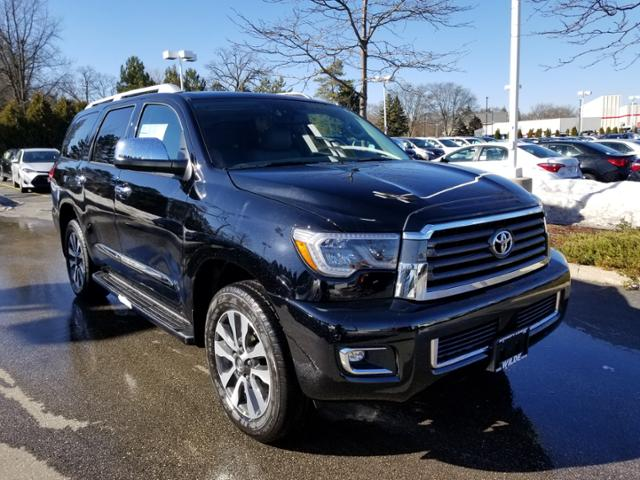 New 2018 Toyota Sequoia Limited 4wd Sport Utility In T54820 Wilde