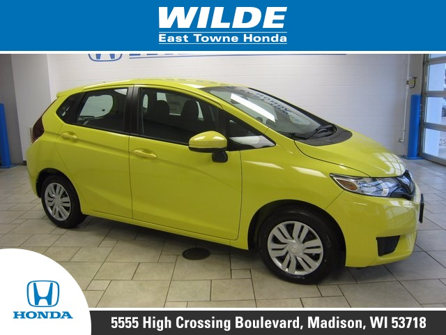 New 2017 Honda Fit Lx 4d Hatchback In 18774 Wilde