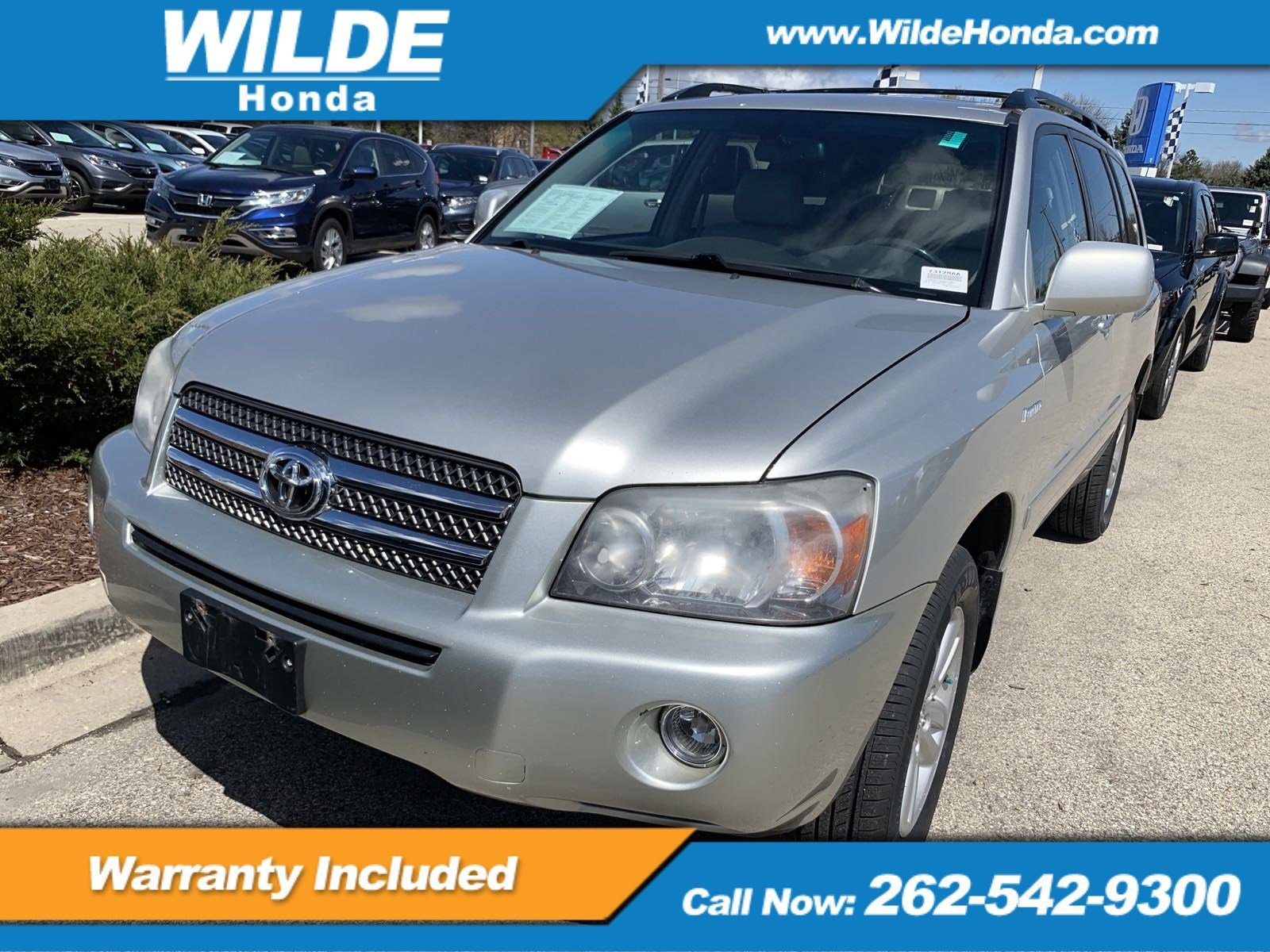 Pre-Owned 2006 Toyota Highlander Hybrid LTD