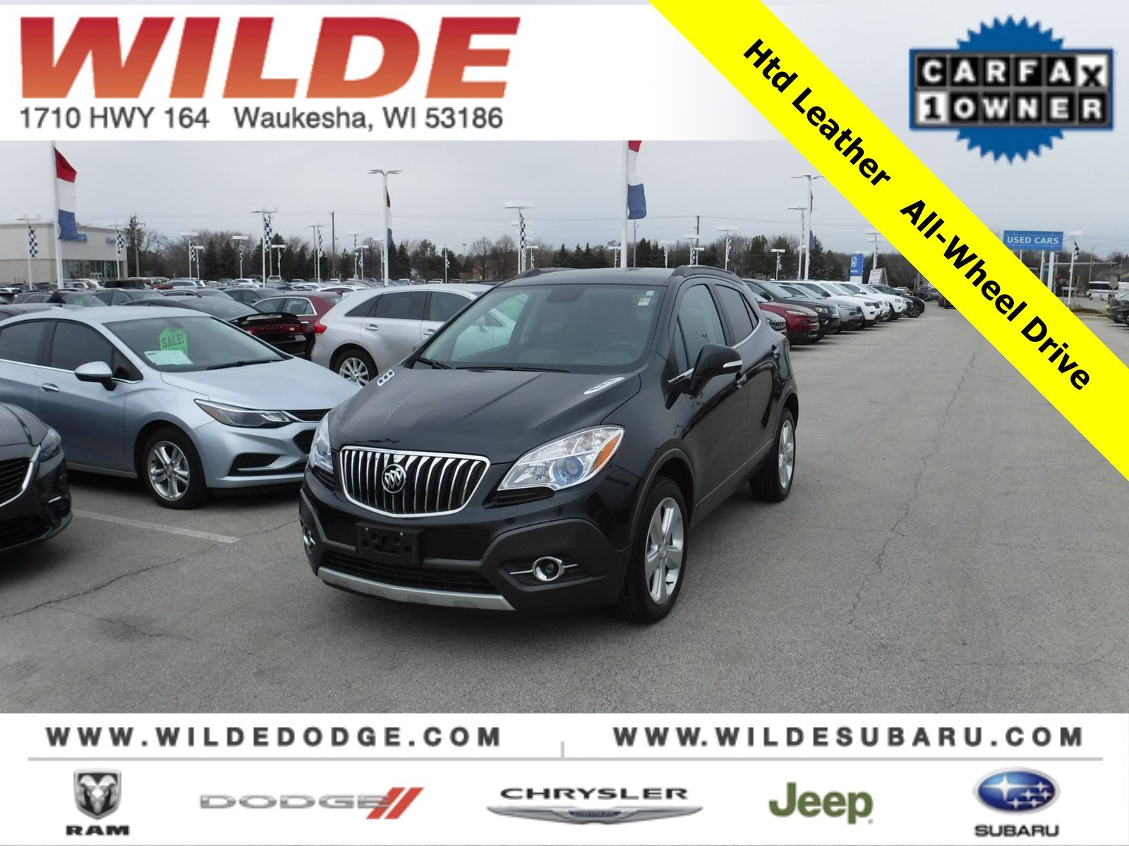 Pre Owned 2016 Buick Encore Leather Suv In 25358a Wilde