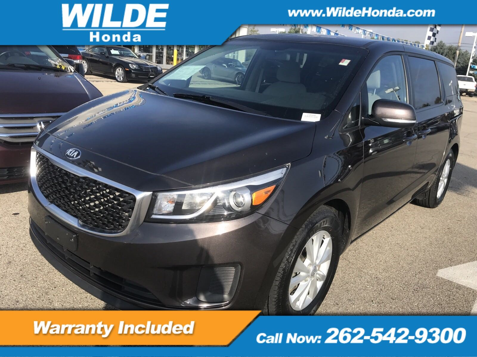 Pre Owned 2017 Kia Sedona Lx Mini Van Passenger In 19566 Wilde Gauges