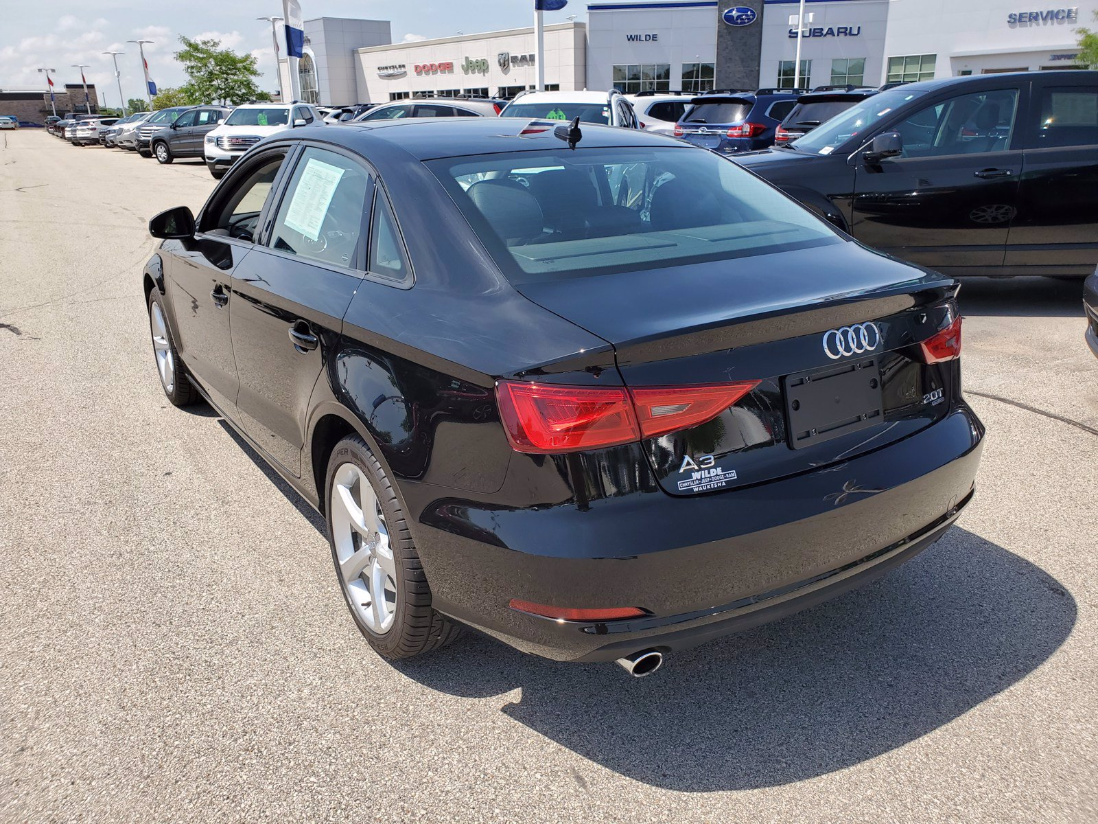 Pre-Owned 2015 Audi A3 2.0T Premium Sedan in #X14353 ...
