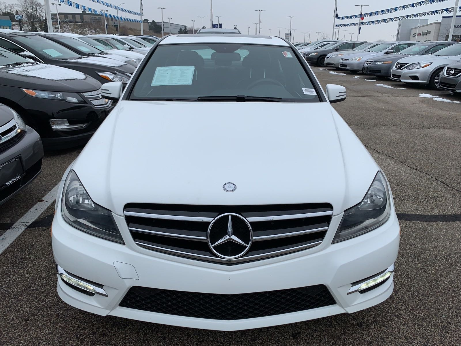 Pre Owned 2014 Mercedes Benz C Class 4DR SDN C300 4MAT 4dr Car in