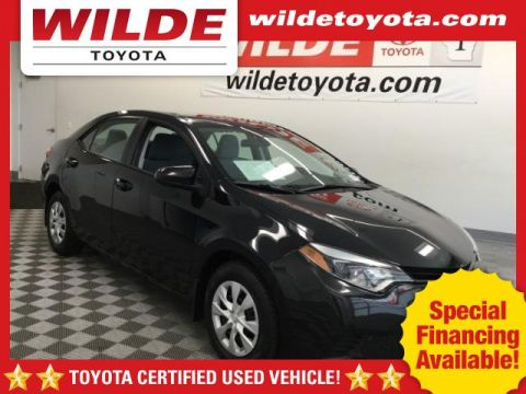Certified Pre-Owned 2016 Toyota Corolla 4dr Sdn Man L