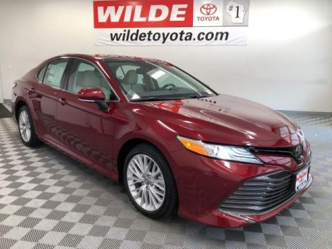 New 2019 Toyota Camry XLE V6 Auto