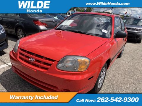 Pre-Owned 2004 Hyundai Accent 3DR HB CPE MT